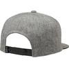 Fox Legacy Snapback Cap Men heather grey